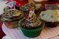 Santa Cup Cakes